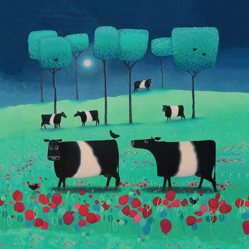 Black, Ailsa 아티스트의 Belties in Green and Blue 작품