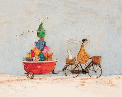 Toft, Sam 아티스트의 A Tubful of Good Cheer 작품