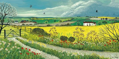 Grundy, Jo 아티스트의 Canola Fields 작품