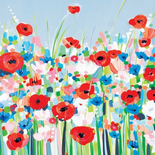 Bell, Janet 아티스트의 Cornflowers and Poppies 작품