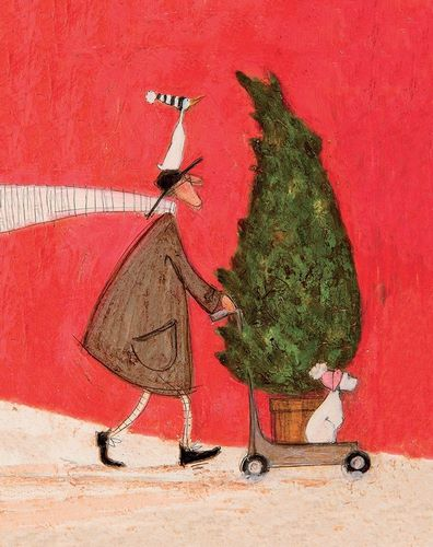 Toft, Sam 아티스트의 Little Silent Christmas Tree 작품