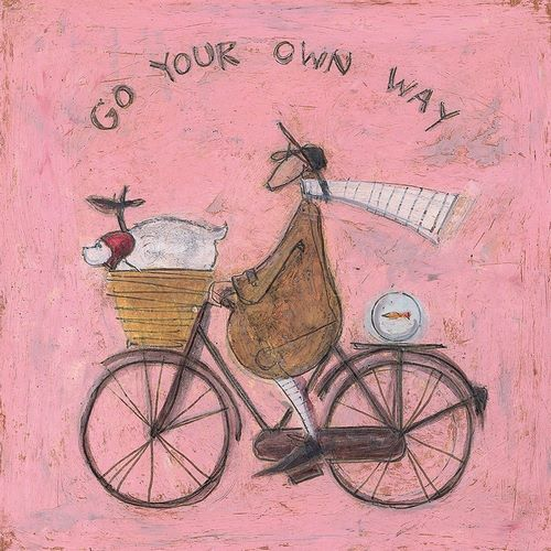 Toft, Sam 아티스트의 Go Your Own Way 작품