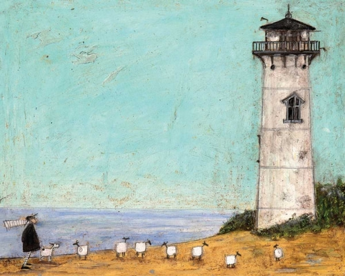 Toft, Sam 아티스트의 Seven Sisters And A Lighthouse 작품