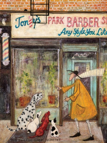 Toft, Sam 아티스트의 The Barber Shop Quartet 작품