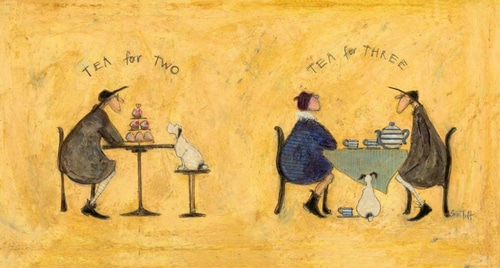 Toft, Sam 아티스트의 Tea for Two Tea for Three 작품