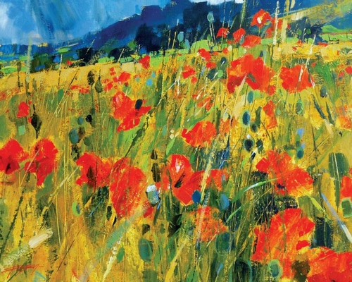 Forsey, Chris 아티스트의 South Downs Poppies 작품