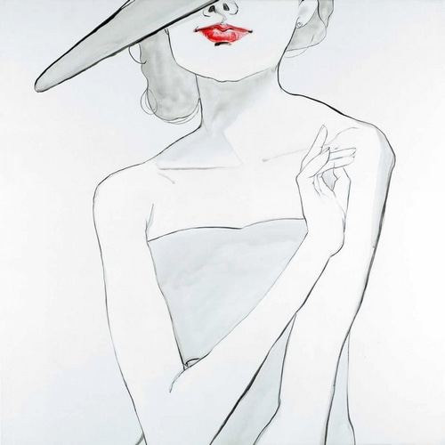 Atelier B Art Studio 아티스트의 Woman with Hat 작품