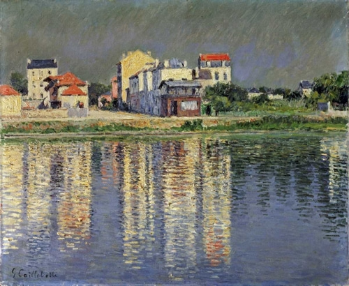 Caillebotte, Gustave 아티스트의 Banks of The Seine at Argenteuil 작품