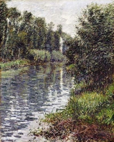 Caillebotte, Gustave 아티스트의 A Small Branch of The Seine, Argenteuil 작품