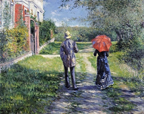 Caillebotte, Gustave 아티스트의 The Path Uphill 작품
