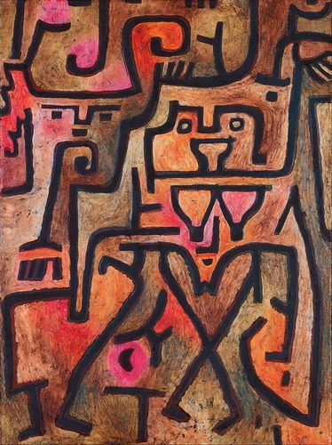 Klee, Paul 아티스트의 Forest Witches, 1938 작품