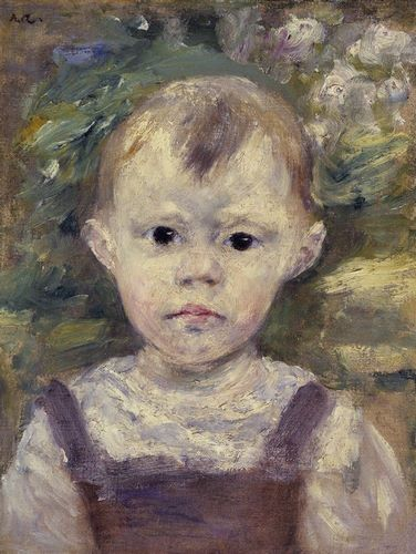 Renoir, Pierre-Auguste 아티스트의 Portrait Of A Little Boy 작품