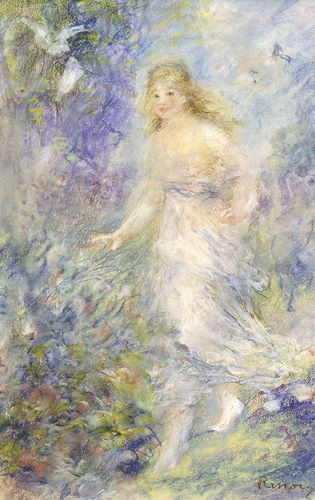 Renoir, Pierre-Auguste 아티스트의 The Four Seasons: The Spring 작품