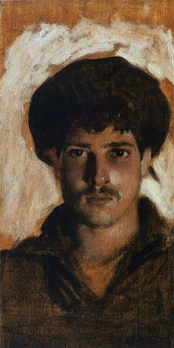 Sargent, John Singer 아티스트의 Head of a Young Man, 1878 작품