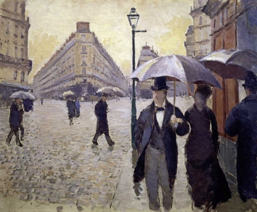 Caillebotte, Gustave 아티스트의 Paris Street--Rainy Weather - Study 작품
