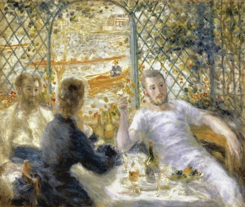 Renoir, Pierre-Auguste 아티스트의 The Rowers Lunch 작품
