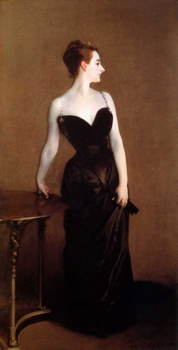 Sargent, John Singer 아티스트의 Madame Pierre Gautreau - Madame X 작품