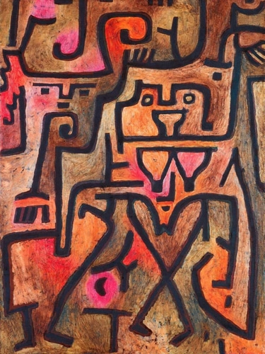Klee, Paul 아티스트의 Forest Witches 작품