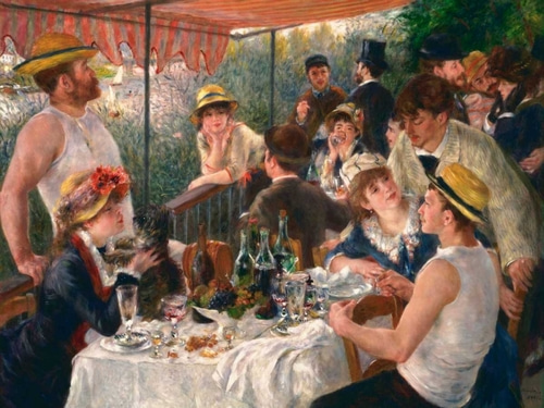Renoir, Pierre-Auguste 아티스트의 Luncheon of the Boating Party 작품