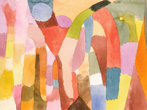 Klee, Paul 아티스트의 Movement of Vaulted Chambers  작품