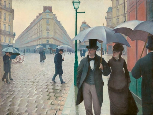 Caillebotte, Gustave 아티스트의 Paris Street rainy day 작품