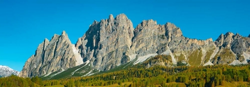 Krahmer, Frank 아티스트의 Pomagagnon and larches in autumn, Cortina dAmpezzo, Dolomites, Italy 작품