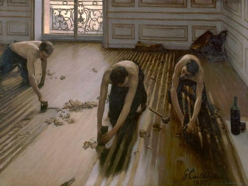 Caillebotte, Gustave 아티스트의 The Floor Planers 작품