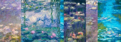 Monet, Claude 아티스트의 Waterlilies I 작품
