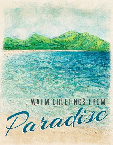 Coolick, Ann Marie 아티스트의 Greetings From Paradise 작품