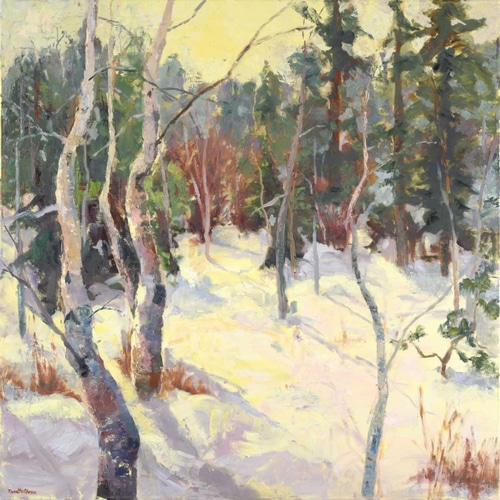 Oleson, Nanette 아티스트의 Four Seasons Aspens IV 작품