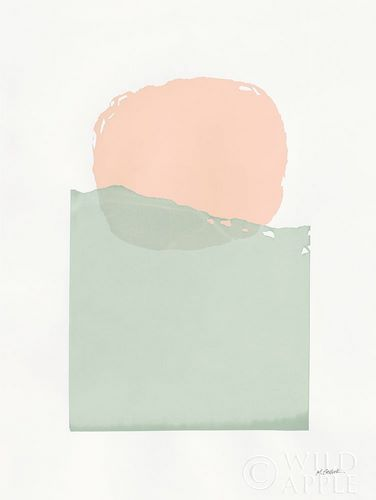 Schick, Mike 아티스트의 Buoyant Pink and Green 작품
