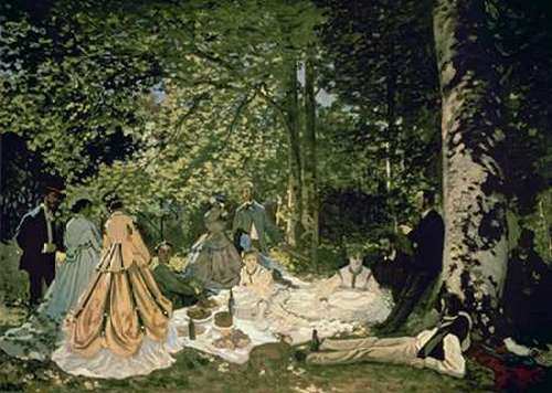 Monet, Claude 아티스트의 Luncheon on the Grass, 1865-66 작품